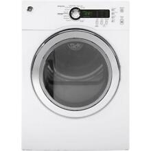 GE DCVH480EKWW 4 0 cu  ft  Electric Compact Dryer in White