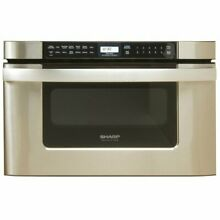Sharp Kb 6524Ps 24 Inch Microwave Drawer Oven  Stainless Steel
