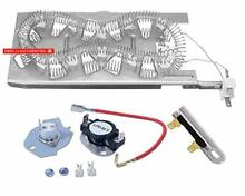 Siwdoy 3387747 279816 3392519 Dryer Heating Element Kit for Whirlpool Kenmore Dr