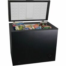 Deep Freezer Chest 7 Cu Ft Compact Upright Dorm Kitchen Food Storage Black NEW