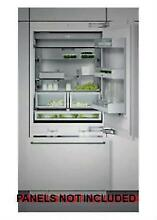 Gaggenau 30  Counter Depth Panel Ready Refrigerator Bottom Freezer RB472701