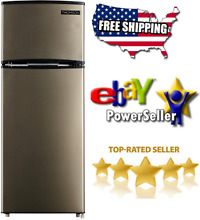 Thomson 7 5 cu  ft  Top Freezer Refrigerator   Brand New Item   Free Shipping
