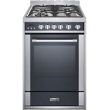 24 In  Freestanding Gas Range with 2 7 Cu  Ft  Convection Oven