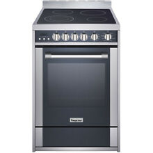 24 In  Freestanding Electric Range with 2 2 Cu  Ft  Convection Oven
