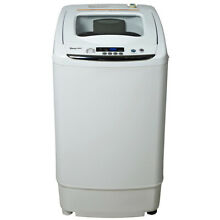 0 9 Cu  Ft  Compact Washer in White