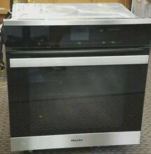 Miele 24  ContourLine Stainless Steel Convection Wall Oven   H6560BSS
