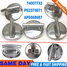 74007733 5 PACK Burner Knob for Jenn Air Gas Range Cooktop PS2375871 AP5668987