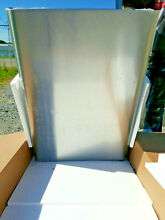 Electrolux Refrigerator Door Stainless 242178112 New for Frigidaire Kenmore