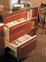 Sub Zero 700BFI   Double Drawer built in Freezer   Panel handles  not included