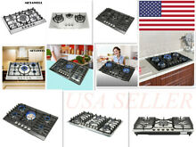 METAWELL COOKTOP Diverse Stainless Burners Built In Stove LPG NG Gas Hob Cooker