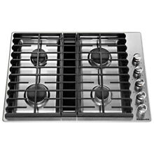 Kitchenaid KCGD500GSS 30  Gas Cooktop