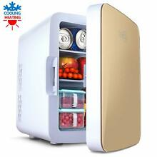 Mini Fridge with Cooler and Warmer  10 Liter Large Capacity Portable Compact Fri