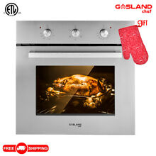 Gasland Chef ES606MS 24  Built in Single Wall Oven with 6 Cooking Function