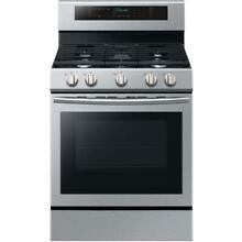 Samsung NX58M6630SS 30 Inch Freestanding Gas Range with True Convection