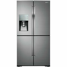 Samsung Stainless Steel 28 CF French Door Refrigerator Flex Drawer RF28K9070SR