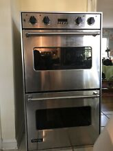 Viking SS Electric Convection  Double Wall Ovens  Good condition used