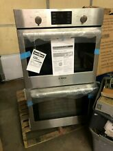 Bosch HBL5551UC 500 Series 30  Double Electric Wall Oven in Stainless Steel