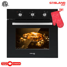 Gasland Chef ES606MB 24  Built in Single Wall Oven with 6 Cooking Function