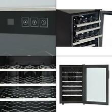 28 bottle touch control stainless steel wine cooler   whynter thermoelectric new