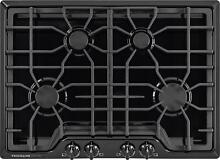 Frigidaire Gallery 30  4 Sealed Burners Black Gas Cooktop FGGC3045QB