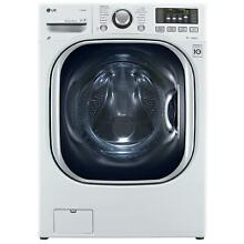 LG WM3997HWA 4 3 cu ft  Ultra Large Capacity Front Load Washer   Dryer Combo