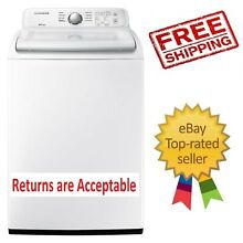 Samsung 4 5 cu  ft  Top Load Washer with Self Clean FREE SHIPPING