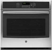 GE  JT5000SFSS 30  Built In Single Electric Wall Oven w Convection   SS