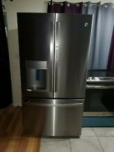 NEW GE GFD28GYNBFS 27 7 FRENCH DOOR REFRIGERATOR WITH DOOR IN DOOR