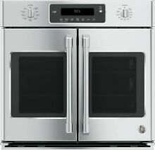 GE Cafe CT9070SHSS 30 Inch Smart Single French Door Electric Wall Oven