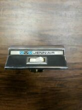Jenn Air 2 Wire Fan Switch OEM PART WITH CHROME MOUNT P N 202546