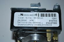 GE Dryer Timer 212D1233P012 WE4M364  7165A5   014 67382  30day Warranty