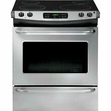 Frigidaire FFES3025PS 4 6 cu  ft  Slide In Electric Range   Stainless Steel