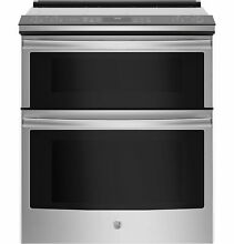 GE Profile Series PS960SLSS 30  Slide In Electric Double Oven Convection Range