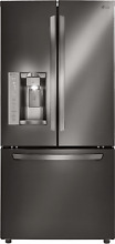 LG LFXS24623D 33  Black Stainless French Door Refrigerator NEW
