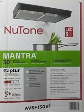 NuTone Mantra 30 in  Convertible Under Cabinet Range Hood with Light in