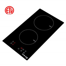 240V Electric Induction Hob  Drop in 2 Burner Induction Stovetop Sensor Touch