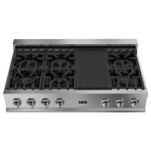 ZLINE 48 in  Porcelain Rangetop with 7 Gas Burners  RT48