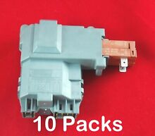 131763202  Washer Door Lock Switch Assembly for Frigidaire  Electrolux 10 Packs