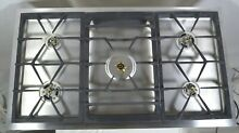 Gaggenau 36 Inch Gas Drop In Cooktop VG491210CA 400 Series Stainless 120V