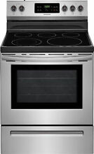 Frigidaire FFEF3054TS 30  Freestanding Electric Range   Stainless Steel