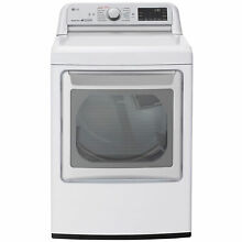 LG DLEX7800WE 7 3 cu  ft  Smart Wi Fi Enabled Top Load Electric Dryer w  TurboS