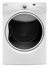 Whirlpool WED85HEFW 7 4 cu  ft  Electric Dryer w  Quick Dry Cycle   White