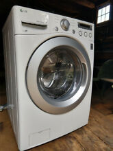 LG WM3050CW Ultra Large Capacity Front Load Washer