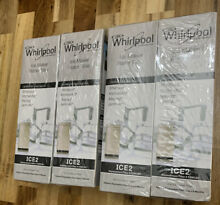 4 X Genuine Whirlpool F2WC9I1 ICE 2 Ice Maker Water Filter ICE2 Factory Sealed