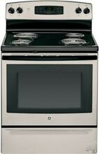 GE 30 Inch Freestanding Electric Range with 4 Coil Burners