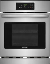 Frigidaire FFEW2426US 24  Single Electric Wall Oven Stainless Steel  Refurbished