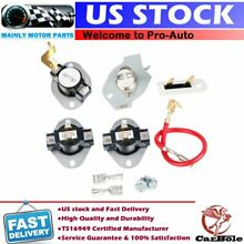 3387134 3977767 279816 3392519 3399848 Dryer Thermostat Fuse Kit for Whirlpool