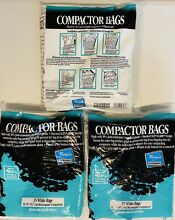 Whirlpool 45 pc 18  Rectangular Trash Compactor Bags 4318938 New Fits All 18