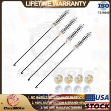 4PCS W10780045 W10821956 Washer Suspension Rod Kit For Whirlpool Kenmore Maytag