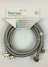 Pack of 2 Kenmore 2659027 Washing Machine Connectors  5 Ft